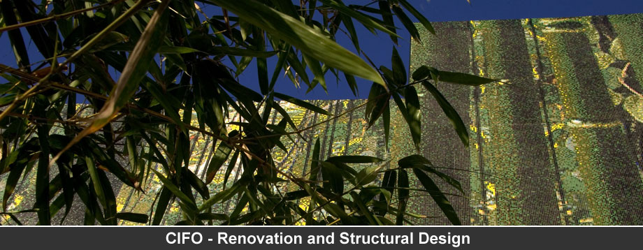 CIFO - Renovation and Structural Design