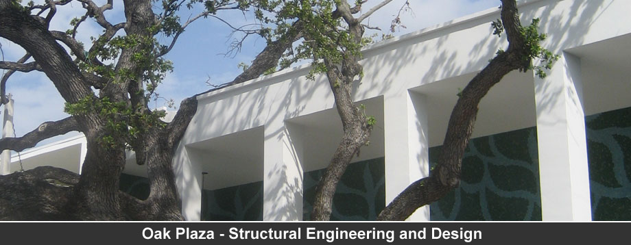 Oak Plaza - Structural Engineering and Design